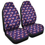 4th of July American Flag Pattern Print Universal Fit Car Seat Covers