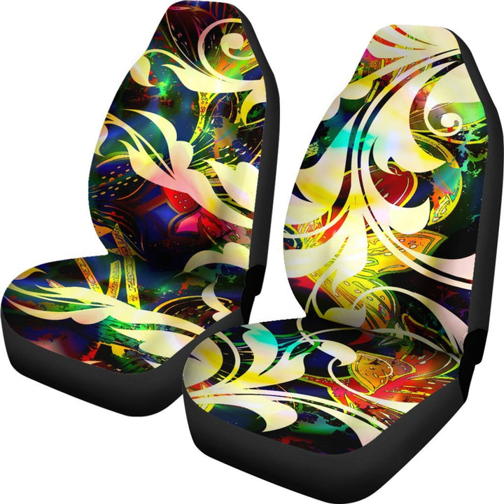 Abstract Filigree Universal Fit Car Seat Covers GearFrost
