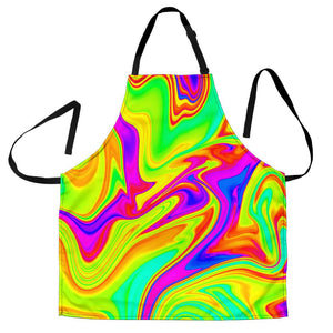 Abstract Liquid Trippy Print Women's Apron GearFrost