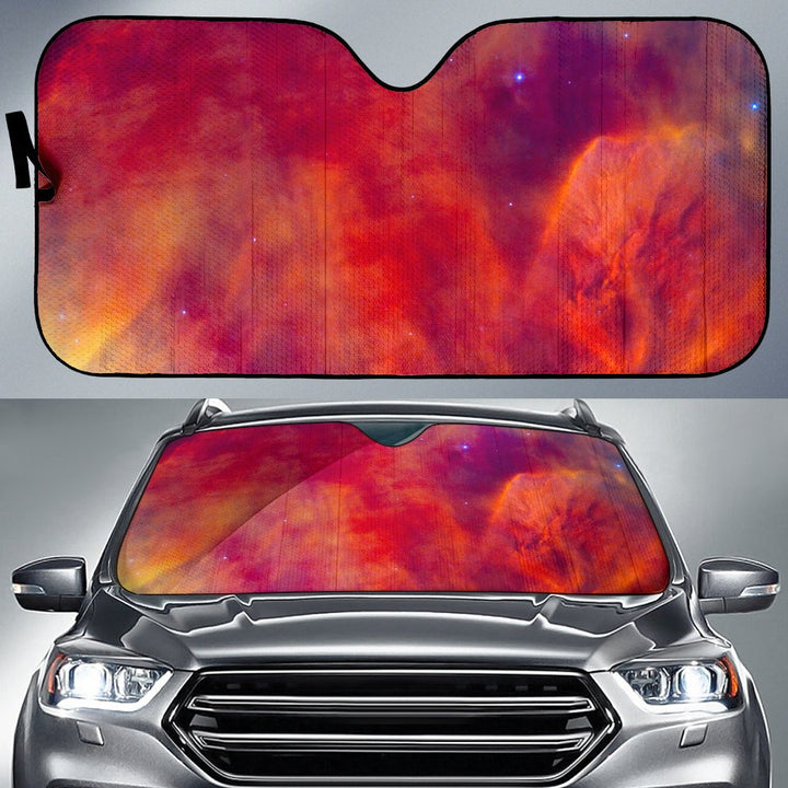 Abstract Nebula Cloud Galaxy Space Print Car Sun Shade GearFrost
