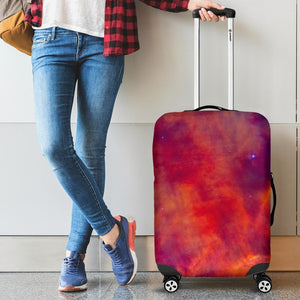 Abstract Nebula Cloud Galaxy Space Print Luggage Cover GearFrost