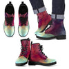 Abstract Nebula Cloud Galaxy Space Print Men's Boots GearFrost
