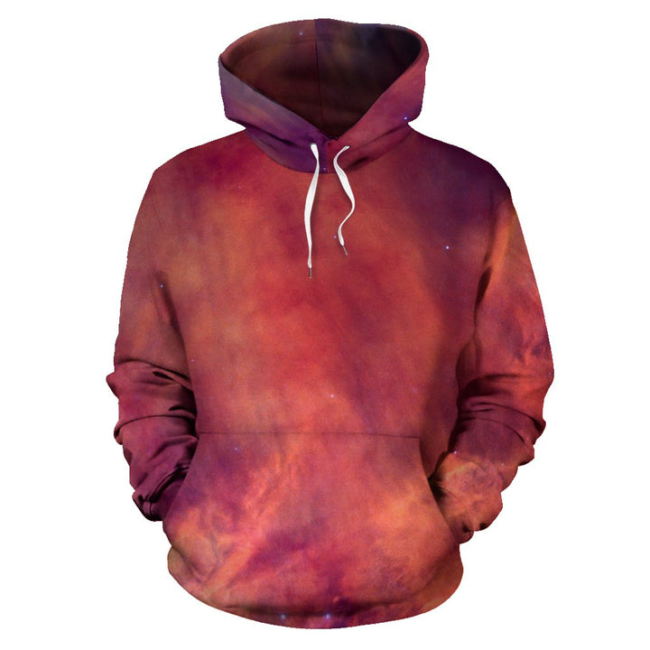 Abstract Nebula Cloud Galaxy Space Print Pullover Hoodie GearFrost