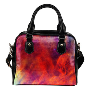 Abstract Nebula Cloud Galaxy Space Print Shoulder Handbag GearFrost