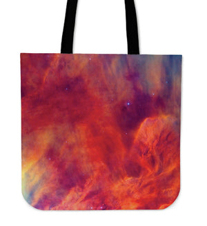 Abstract Nebula Cloud Galaxy Space Print Tote Bag GearFrost