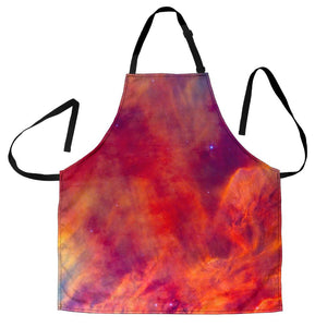 Abstract Nebula Cloud Galaxy Space Print Women's Apron GearFrost