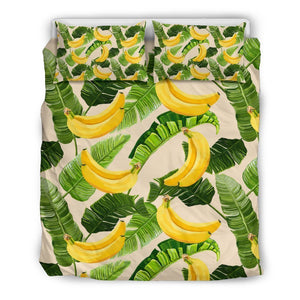 Aloha Banana Pattern Print Duvet Cover Bedding Set GearFrost