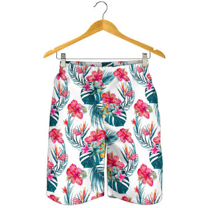 Aloha Hawaii Floral Pattern Print Men's Shorts GearFrost