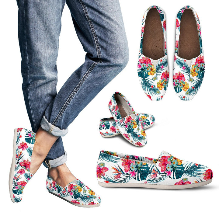 Aloha Hawaii Floral Pattern Print Women's Casual Shoes GearFrost