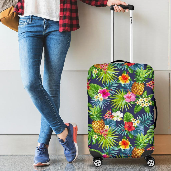Aloha Hawaii Tropical Pattern Print Luggage Cover GearFrost