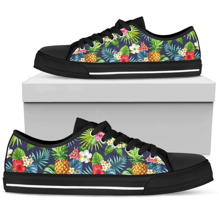 Aloha Hawaii Tropical Pattern Print Men's Low Top Shoes GearFrost