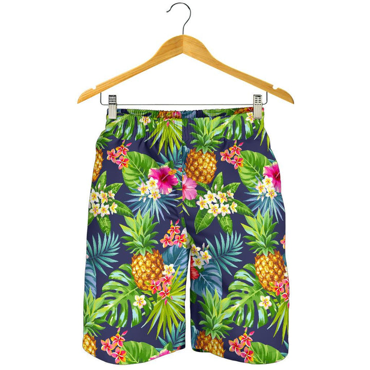 Aloha Hawaii Tropical Pattern Print Men's Shorts GearFrost