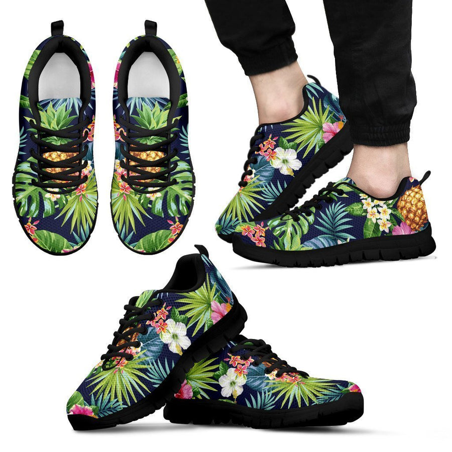 Aloha Hawaii Tropical Pattern Print Men's Sneakers GearFrost