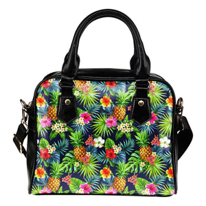 Aloha Hawaii Tropical Pattern Print Shoulder Handbag GearFrost