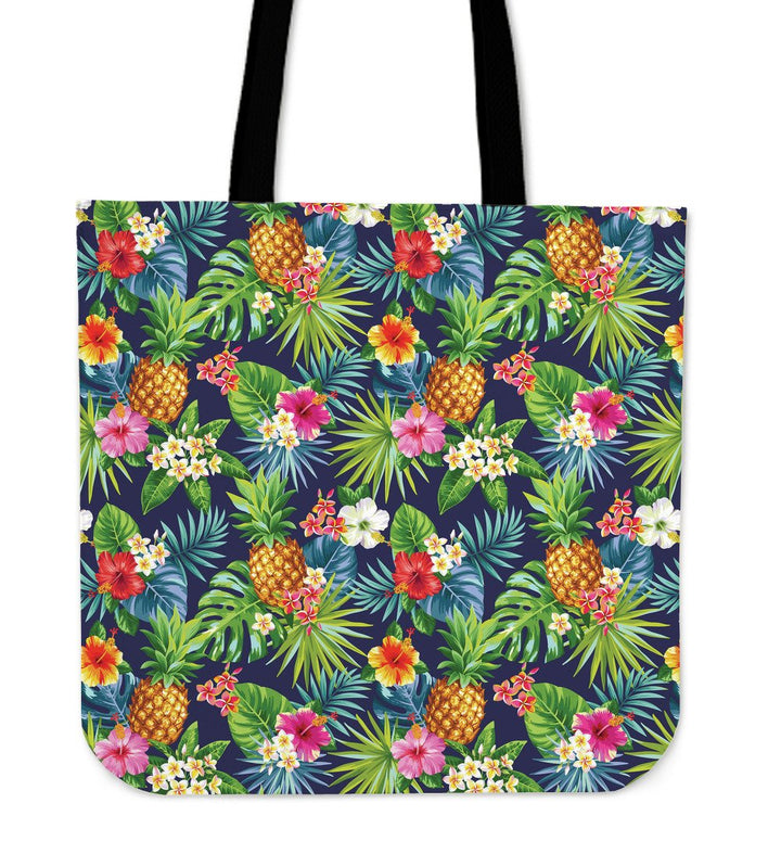 Aloha Hawaii Tropical Pattern Print Tote Bag GearFrost
