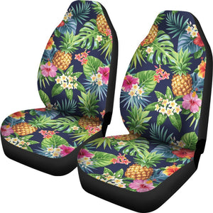 Aloha Hawaii Tropical Pattern Print Universal Fit Car Seat Covers GearFrost