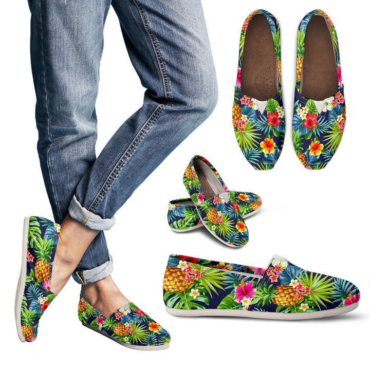 Aloha Hawaii Tropical Pattern Print Women's Casual Shoes GearFrost