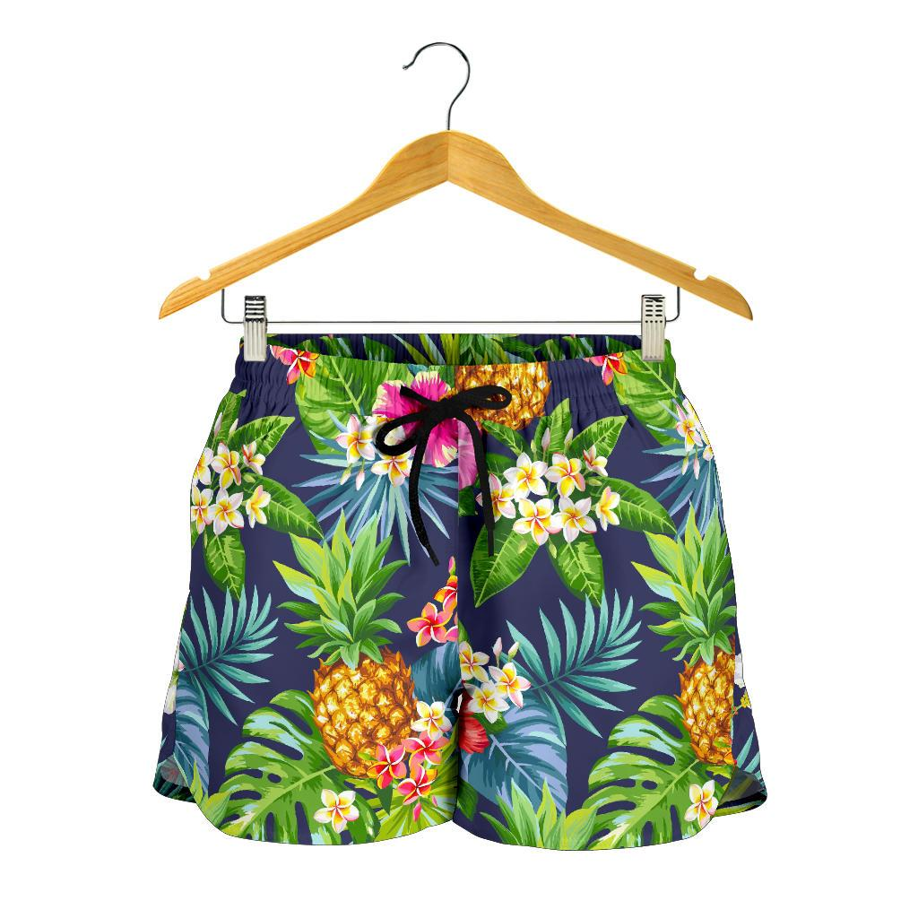 Aloha Hawaii Tropical Pattern Print Women's Shorts GearFrost
