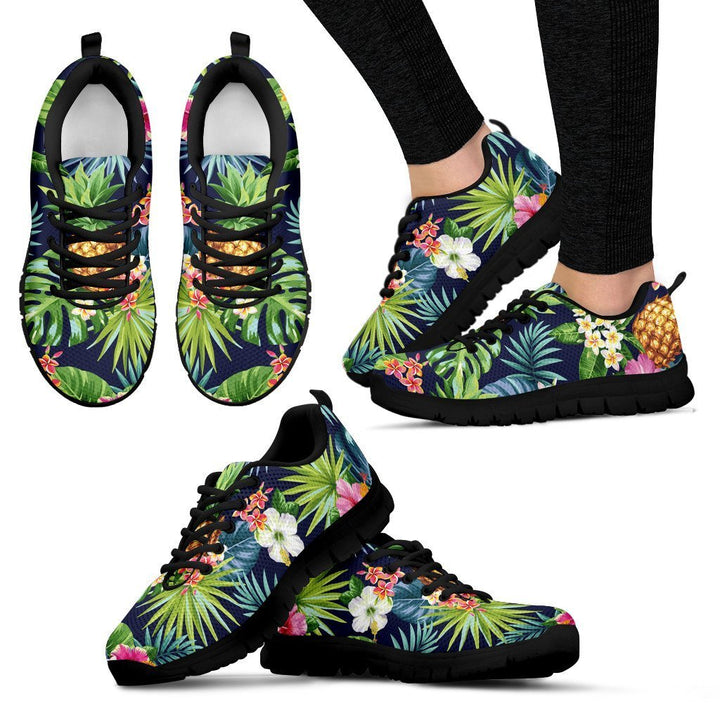 Aloha Hawaii Tropical Pattern Print Women's Sneakers GearFrost