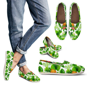 Aloha Hawaiian Pineapple Pattern Print Women's Casual Shoes GearFrost
