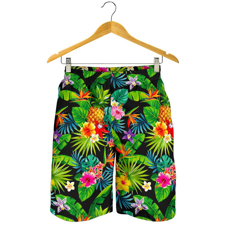 Aloha Hawaiian Tropical Pattern Print Men's Shorts GearFrost