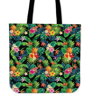 Aloha Hawaiian Tropical Pattern Print Tote Bag GearFrost