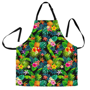 Aloha Hawaiian Tropical Pattern Print Women's Apron GearFrost