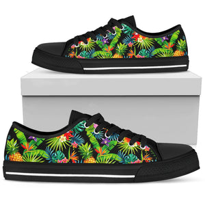 Aloha Hawaiian Tropical Pattern Print Women's Low Top Shoes GearFrost
