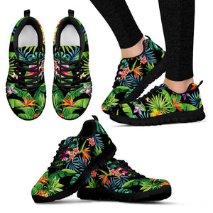Aloha Hawaiian Tropical Pattern Print Women's Sneakers GearFrost