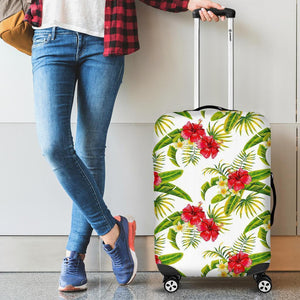 Aloha Hibiscus Tropical Pattern Print Luggage Cover GearFrost