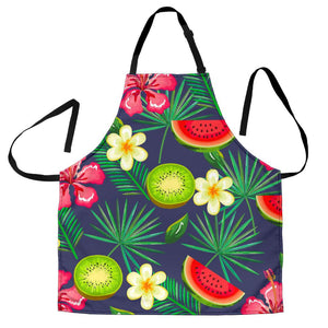 Aloha Tropical Watermelon Pattern Print Women's Apron GearFrost