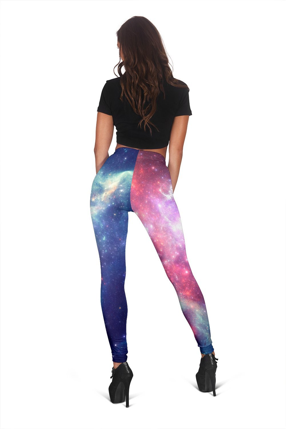 b08f4a13f69a0 ... Stars Galaxy Space Print Women's Leggings GearFrost. Product image 1 ...