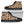 Brown Cow Print Men's High Top Shoes GearFrost