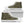 Brown Green Camouflage Print Women's High Top Shoes GearFrost