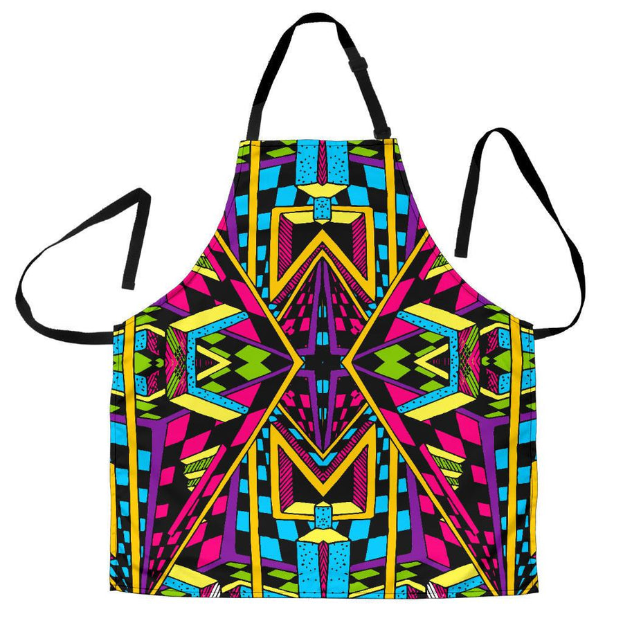 Ethnic Psychedelic Trippy Print Women's Apron GearFrost