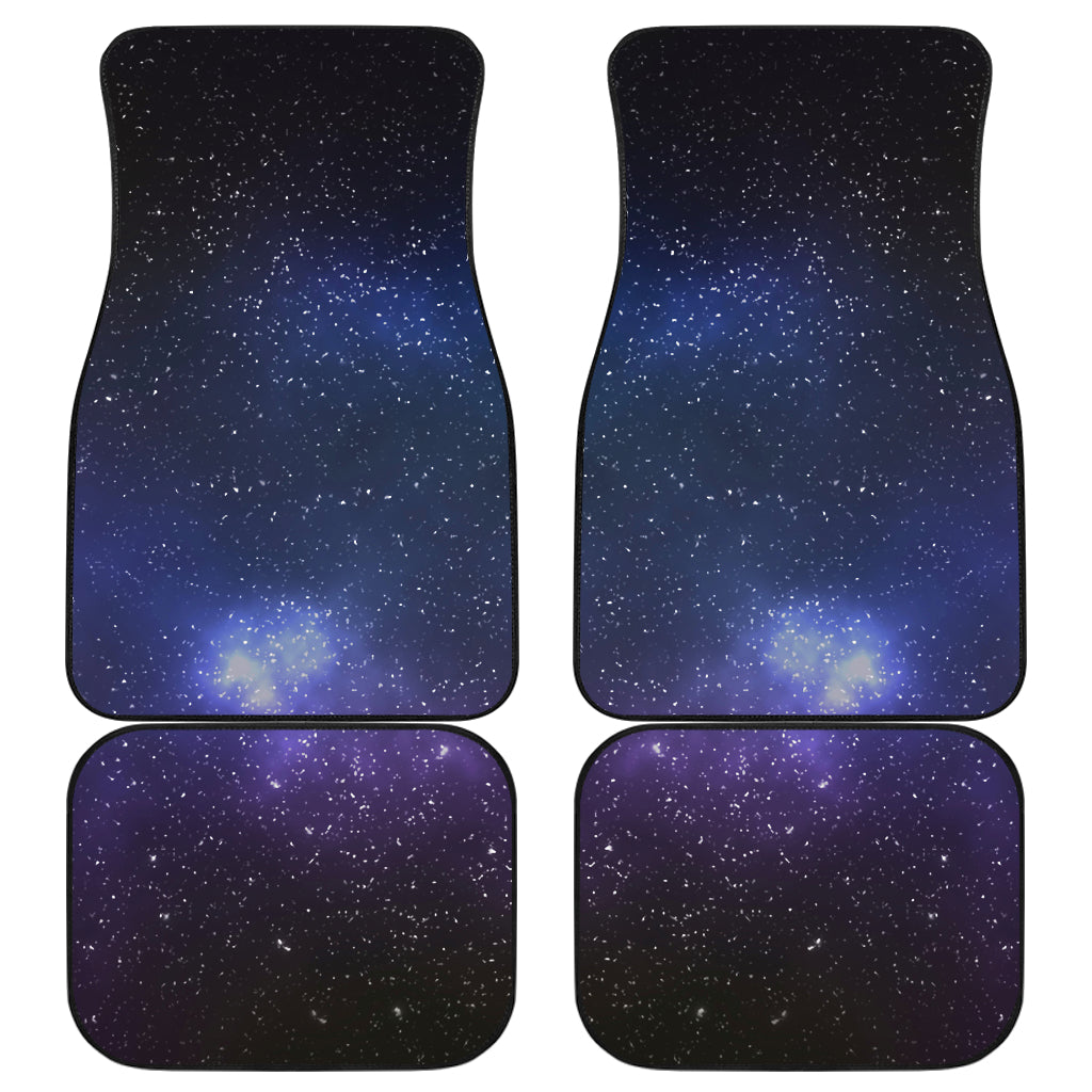 Nebula Universe Galaxy Deep Space Print Front and Back Car Floor Mats