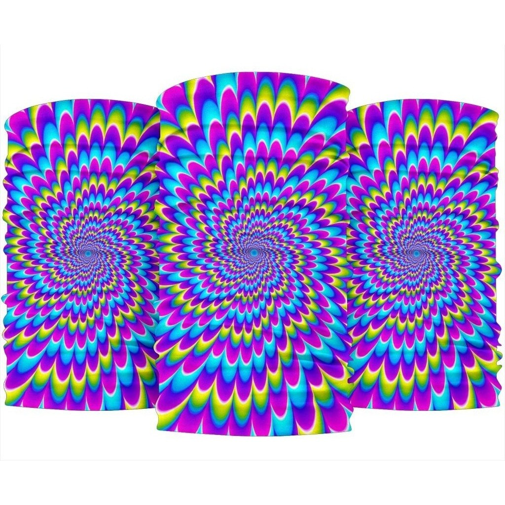 Abstract Dizzy Moving Optical Illusion Bandana
