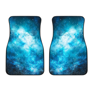 Blue Sky Universe Galaxy Space Print Front Car Floor Mats