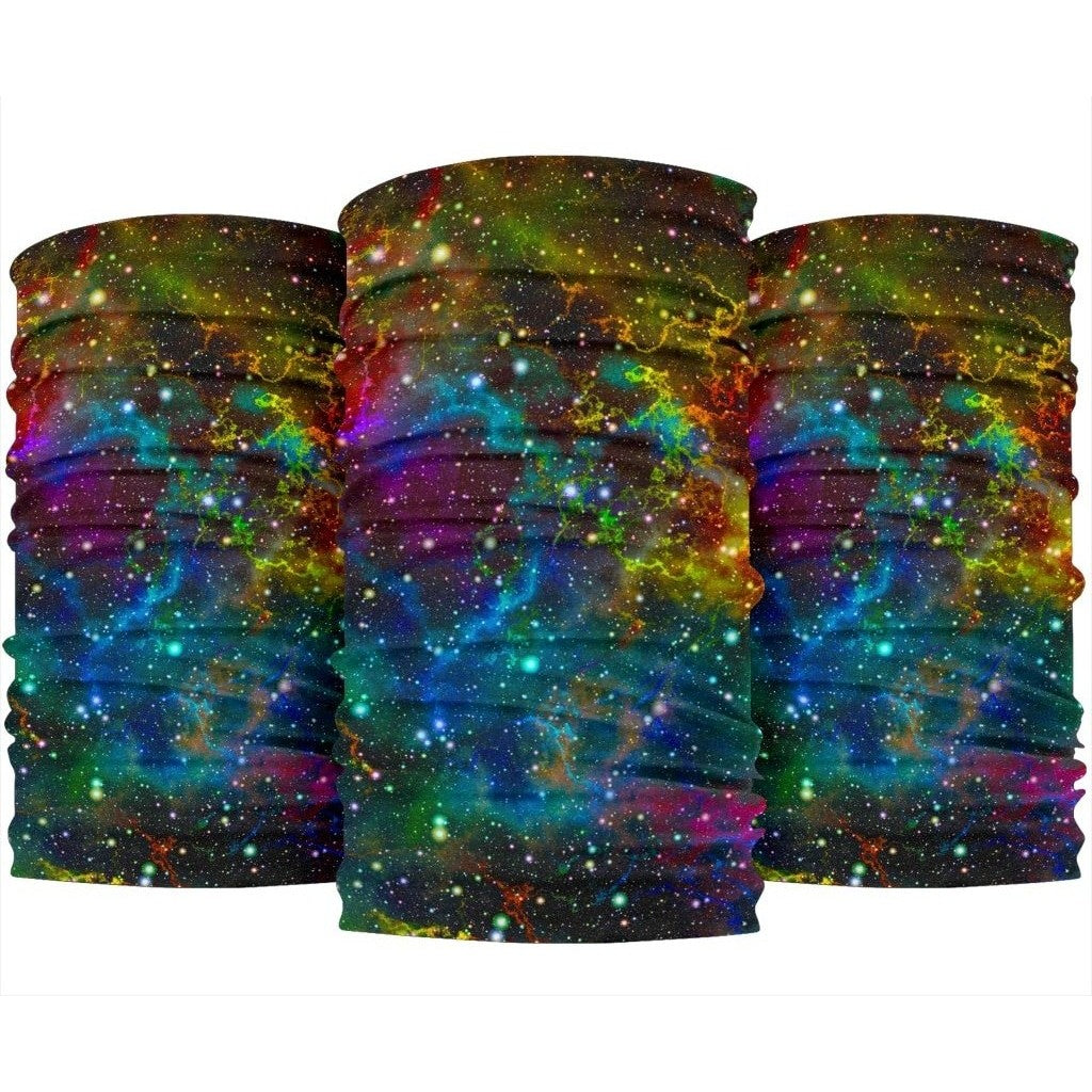 Abstract Colorful Galaxy Space Print Bandana