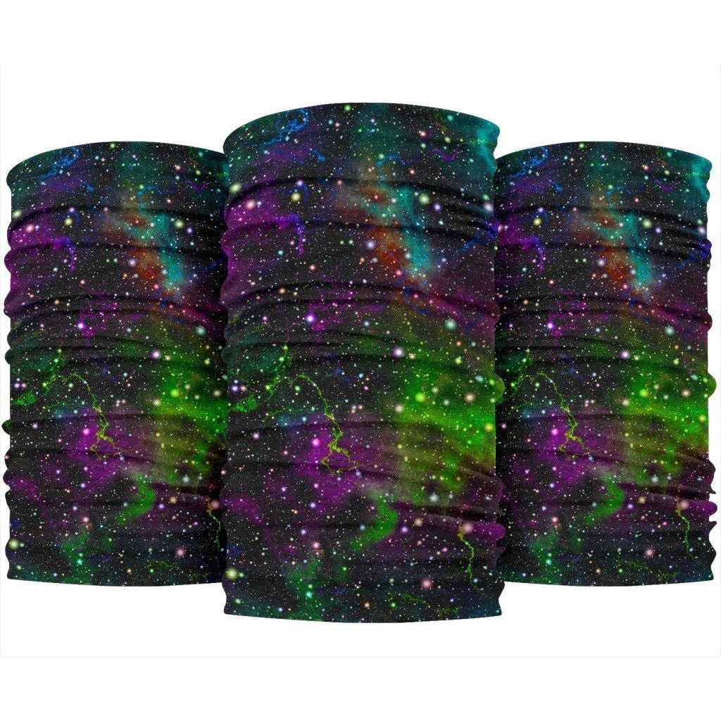 Abstract Dark Galaxy Space Print Bandana