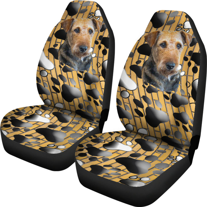 Airedale Terrier Lover Universal Fit Car Seat Covers