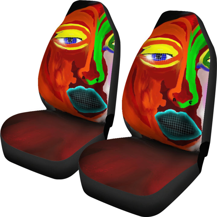 Abstract Art Universal Fit Car Seat Covers