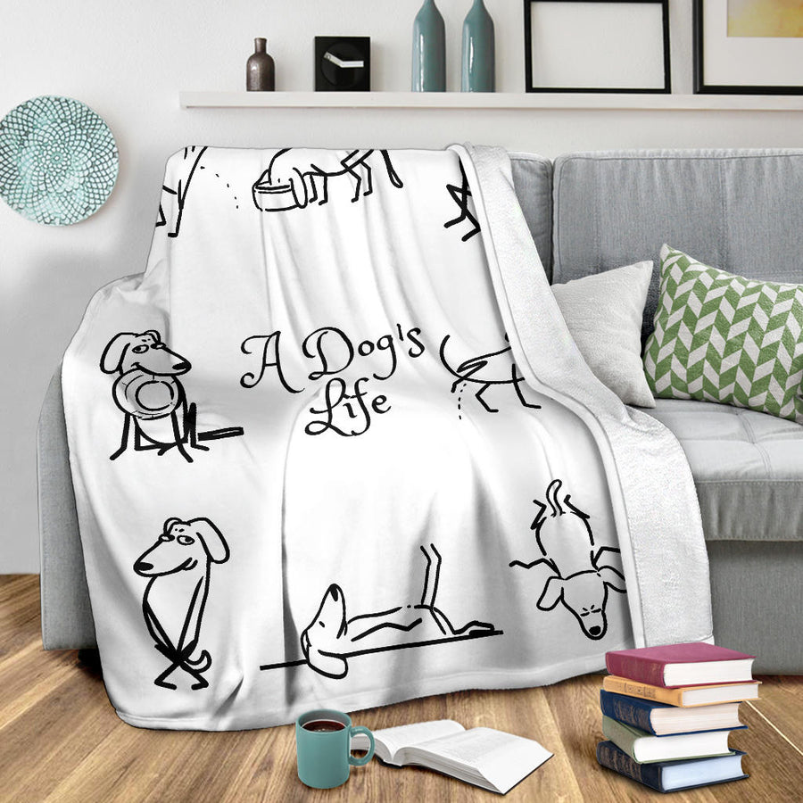 A Dog's Life Blanket