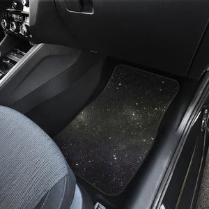 Dark Universe Galaxy Outer Space Print Front Car Floor Mats