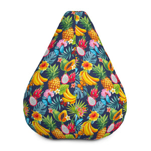 Aloha Tropical Fruits Pattern Print Bean Bag Chair