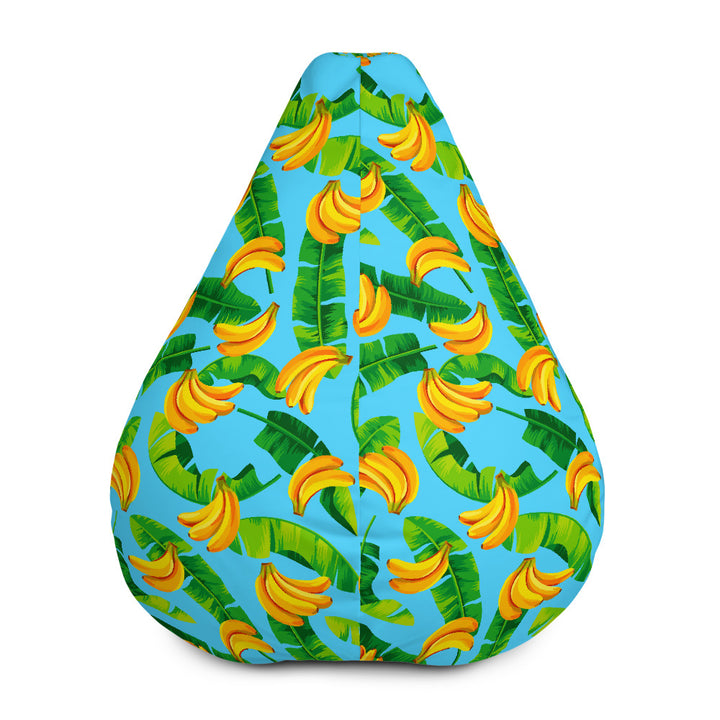 Banana Leaf Pattern Print Bean Bag Chair