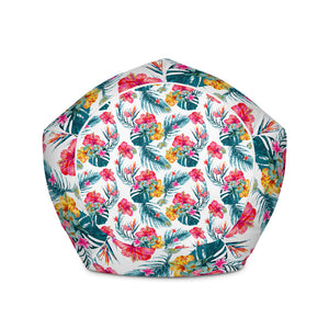 Aloha Hawaii Floral Pattern Print Bean Bag Chair