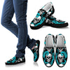Octopus Tentacles Skull Pattern Print Women's Slip On Shoes GearFrost