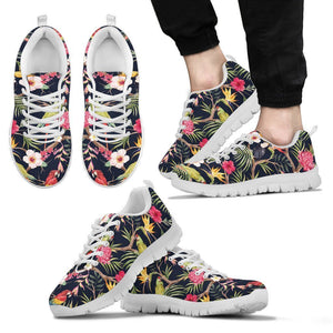 Parrot Toucan Tropical Pattern Print Men's Sneakers GearFrost