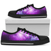 Purple Starfield Galaxy Space Print Men's Low Top Shoes GearFrost